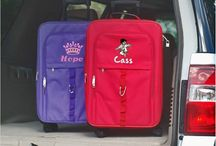 Kids Luggage / Travel in style with personalized kids luggage. Call now or order online today!