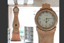 Swedish Mora Clocks / antique Swedish Mora clocks