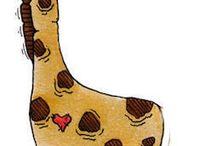 jessi my long legged giraffe / by ali arthur