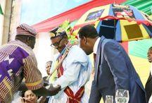 President Buhari Received Chieftancy Title In Benin Republic (Photos)