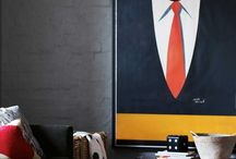 our mad men / in honor of father's day some decor inspiration for the men in our lives.  / by glassybaby
