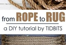 Rope to rug