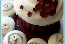 Giant cupcake **