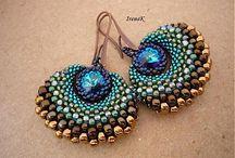 Beading - earrings / Inspiration