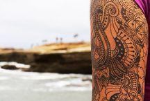 Tattoo Bali indisch dotwork