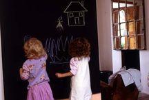 Especial Niños / Viví la Magia del Color en el cuarto de los chicos. Divertíte con ellos preparando juegos, pintando y dibujando...