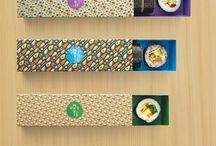 Empaque de sushi