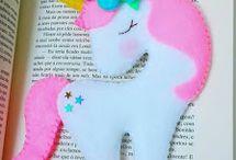 Unicorn - Unicórnios  molde e inspiração