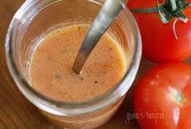 Gesunde Salat-dressings