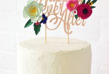Paper Cake Toppers