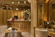 vanity and closet