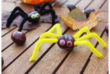 Kastanien Spinnen