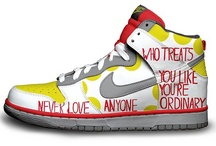NIKES  / Virtual project NIKEFORMS.com is made to connect people who has Multiple Sclerosis through creating a custom made Nike design ideas and to attract public interest to Multiple Sclerosis. By sharing and liking this project you are making a difference.