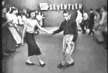 Dancing in 1940's and 1950's