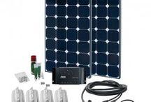 Solar Kits für Caravan, Autos, Boote / Komplette Solar Kits zur Stromerzeugung für Caravan, Autos, Boote, Yachten