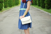 Bloggers' outfits - spring / summer / by Elena Serban