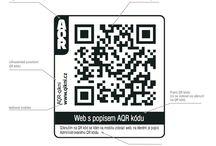 AQR kód - Administrovaný QR kód / Popis a použití Administrovaného QR kódu