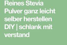 Stevia selbst herstellen