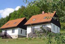 Tsjechië - Vakantiehuizen voor grote gezinnen / Geschikte vakantie accommodaties (vakantiehuis/appartement/bungalow/tent) in Tsjechië speciaal voor grote gezinnen met 3 of meer kinderen, waarbij de slaapplekken in de slaapkamers zijn en niet in de woonkamer.