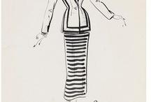 Fashion & Costume Design Sketches