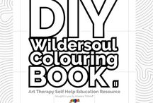 DIY Colouring Book / Do-it-yourself Colouring Books Colouring Books DIY Colouring Books Adult Colouring Books Art Therapy Self Help Creativity Creative Expression
