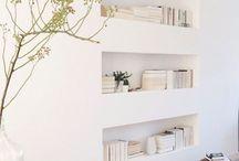 Boeken muur