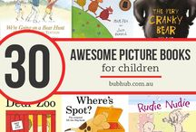 Books for toddlers / Books children toddlers kids picture illustrated popular Australian
