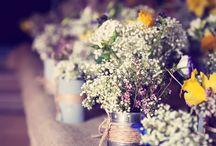 wesele dekoracje rustykalne/ wedding decoration rustic / Piękne Weselne dekoracje rustykalne