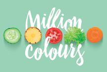 Million Colours / Multifruit's juice recipes. #MillionColours #Multifruit