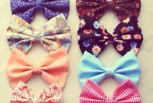 Bows ❤ / by Courtney Mcshannon