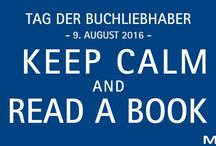 National book lovers day 2016 / MAUL feiert mit euch den Tag der Buchliebhaber 2016!  MAUL celebrates national book lovers day 2016!