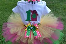 1st Birthday Tutu Sets / Great selection of 1st Birthday Tutu sets or any age! Personalization available.