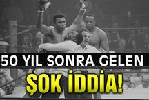Muhammed Ali için şike iddiası