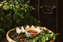 traditional food styling