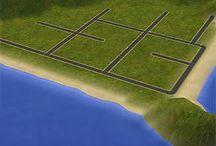 Neighborhood: terrain, deco...