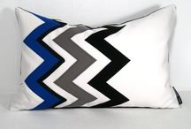 Black white & blue/grey