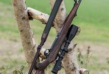 Jagdgewehre und Handfeuerwaffen