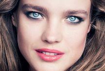 Natalia Vodianova makeup styles