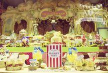 A&K Lolly Buffet {Quirky Woodland Themed Wedding Festival Dessert Table} / http://aandklollybuffet.com.au/wedding-festival-dessert-buffet/