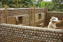 House made from plastic botles