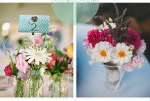 Flores para el centro de mesa y exterior