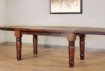 Ruff Sawn Furniture / This heirloom quality furniture is handcrafted in North America by woodworkers who are dedicated to maintaining the integrity of the wood.