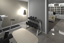 Home Gym / Here's a collection of our favorite home gym design submissions from contests hosted on Arcbazar.com. Hopefully some of these designs will inspire your next project!