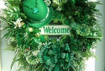 St Patricks Day Wreaths / by Yvonne Naudack