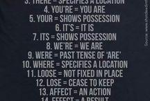 grammar / by Jamey Flynn