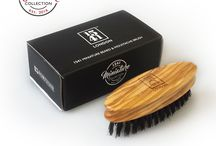 1541 Miniature Collection / 1541 London would like to introduce the new 1541 London Miniature Collection. Tame the beard and groom your Stache on the go! The 1541 London Miniature Collection consists of mini travel sized beard and moustache brushes, a must have tool for the gallant man.