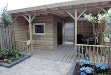zahradní domky a sauny