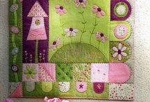 Mantas patchwork