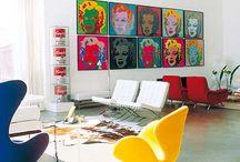 interieur primaire kleuren