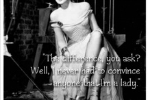 Linda's Face, My Thoughts / Linda Darnell is my favorite old Hollywood starlet. Her beauty is classic, and her facial expressions seems endless. I've paired her expressions w/ my thoughts. / by Lady Krystal